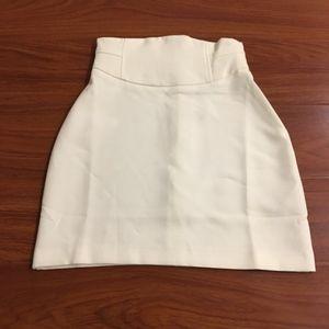 ASOS White Mini Skirt